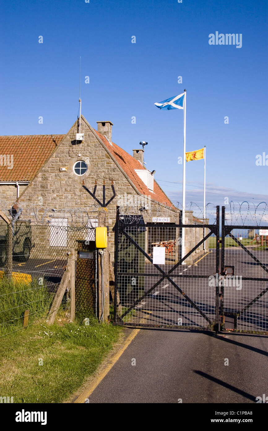 Scotland, Fife, Anstruther, building above Scotland's Secret Bunker - Stock Image