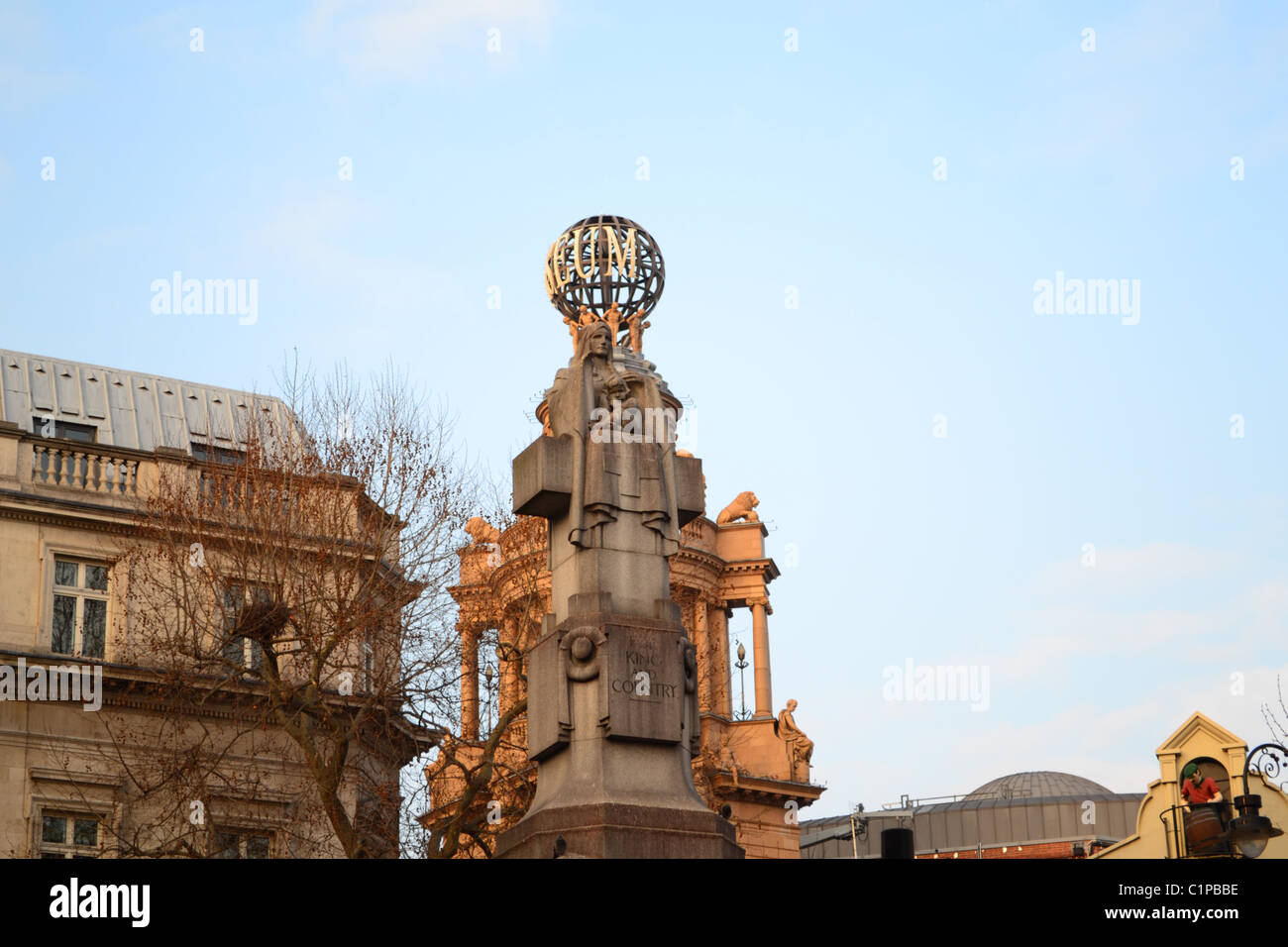 Coliseum Theatre, Theatreland, London, UK - Stock Image