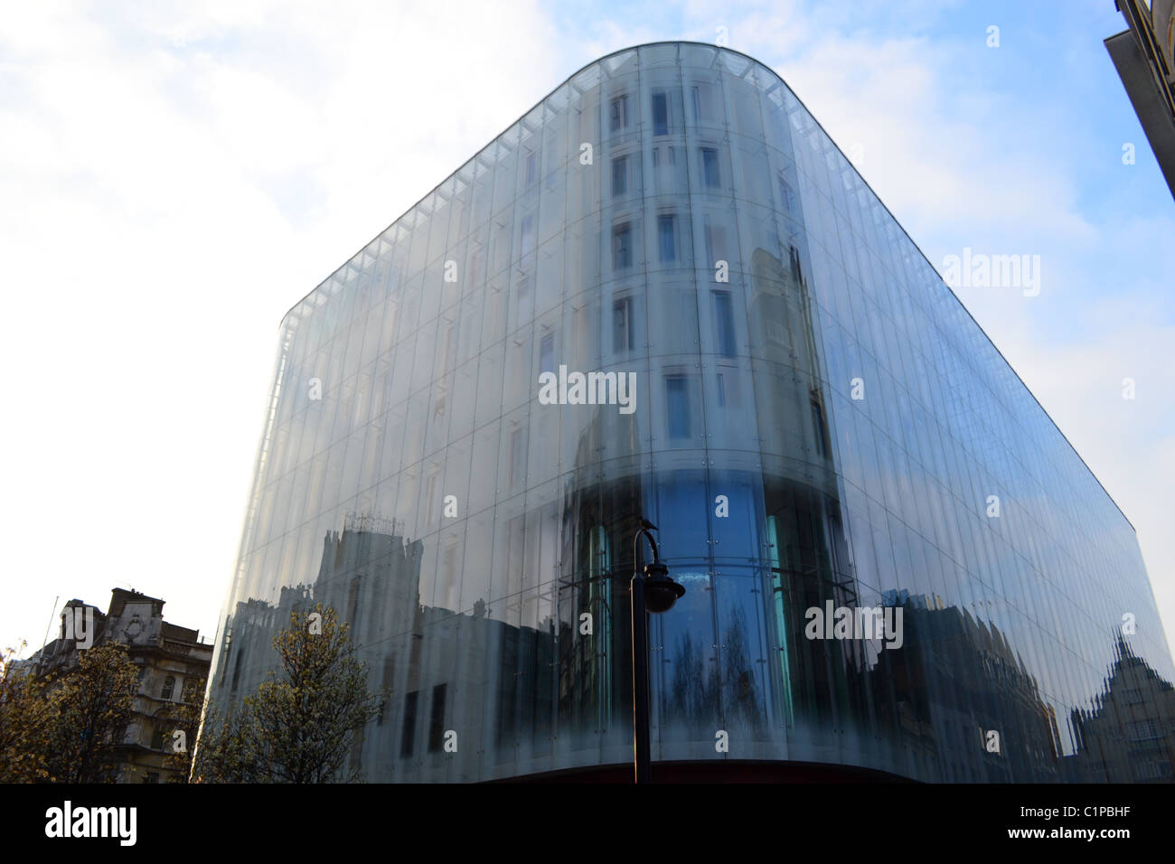 W Hotel Leicester Square London UK ARTIFEX LUCIS - Stock Image