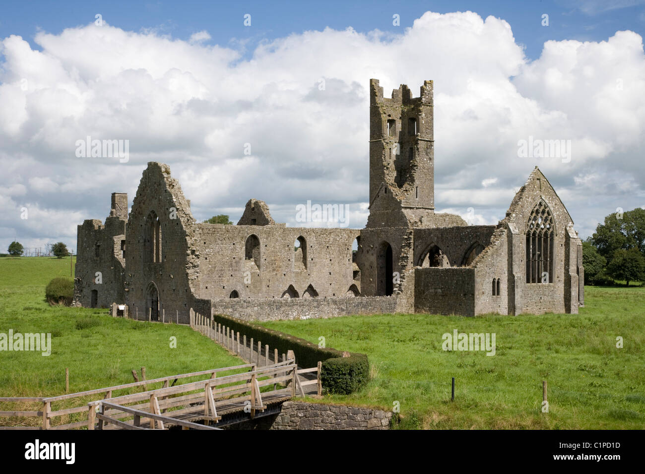 Republic of Ireland, County Limerick, Kilmallock Priory - Stock Image