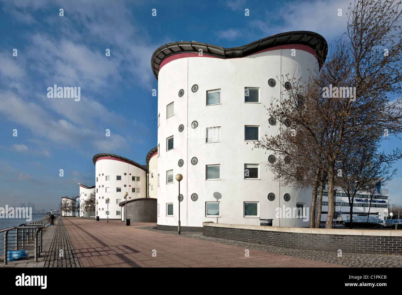 University of East London Docklands Campus - Stock Image