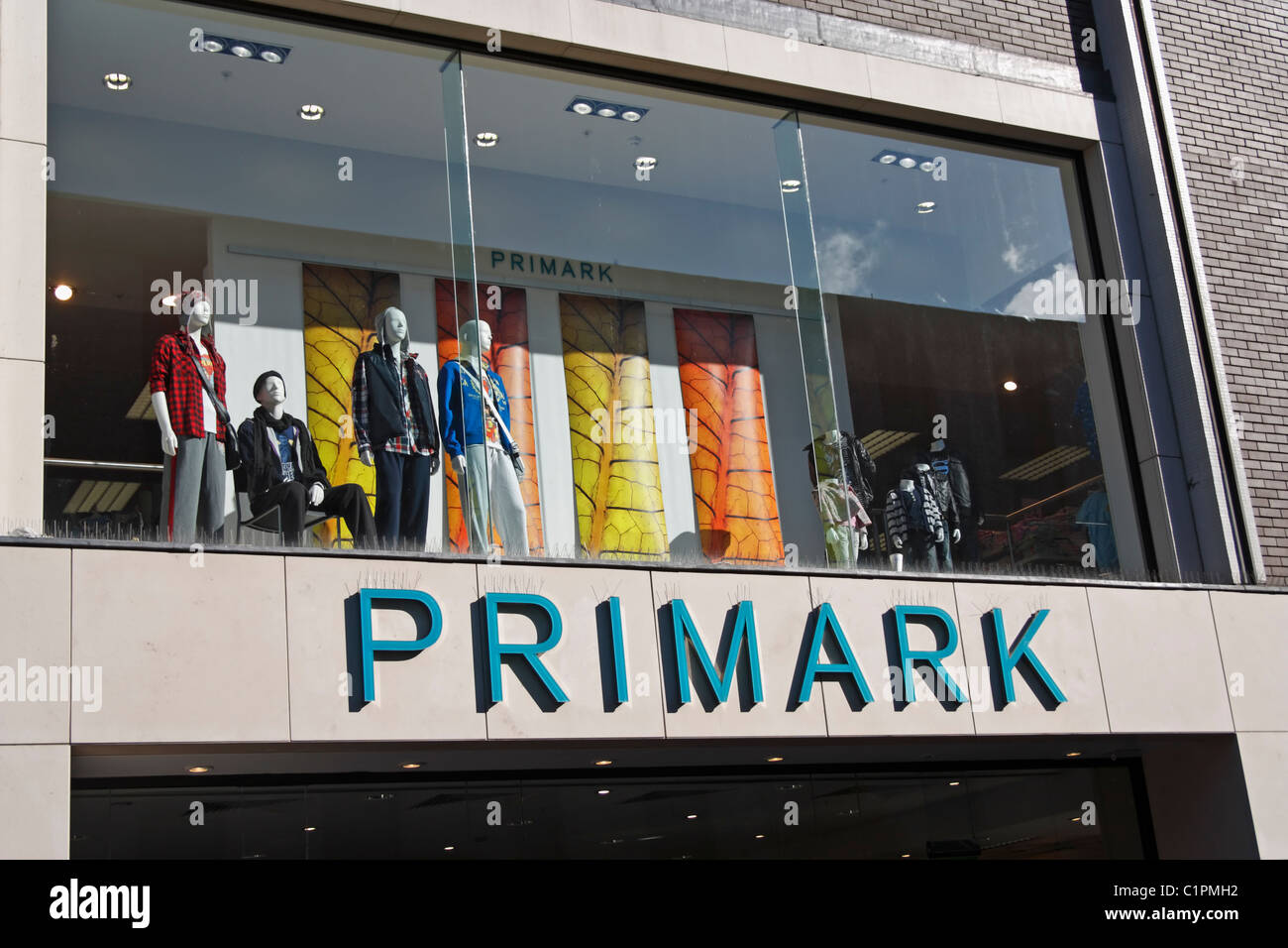 Primark store in Newcastle upon Tyne, England, UK - Stock Image