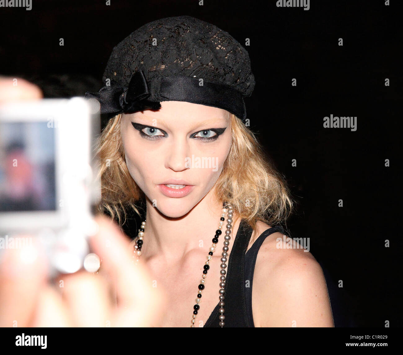 Model Sasha Pivovarova Stock Photos & Model Sasha ...