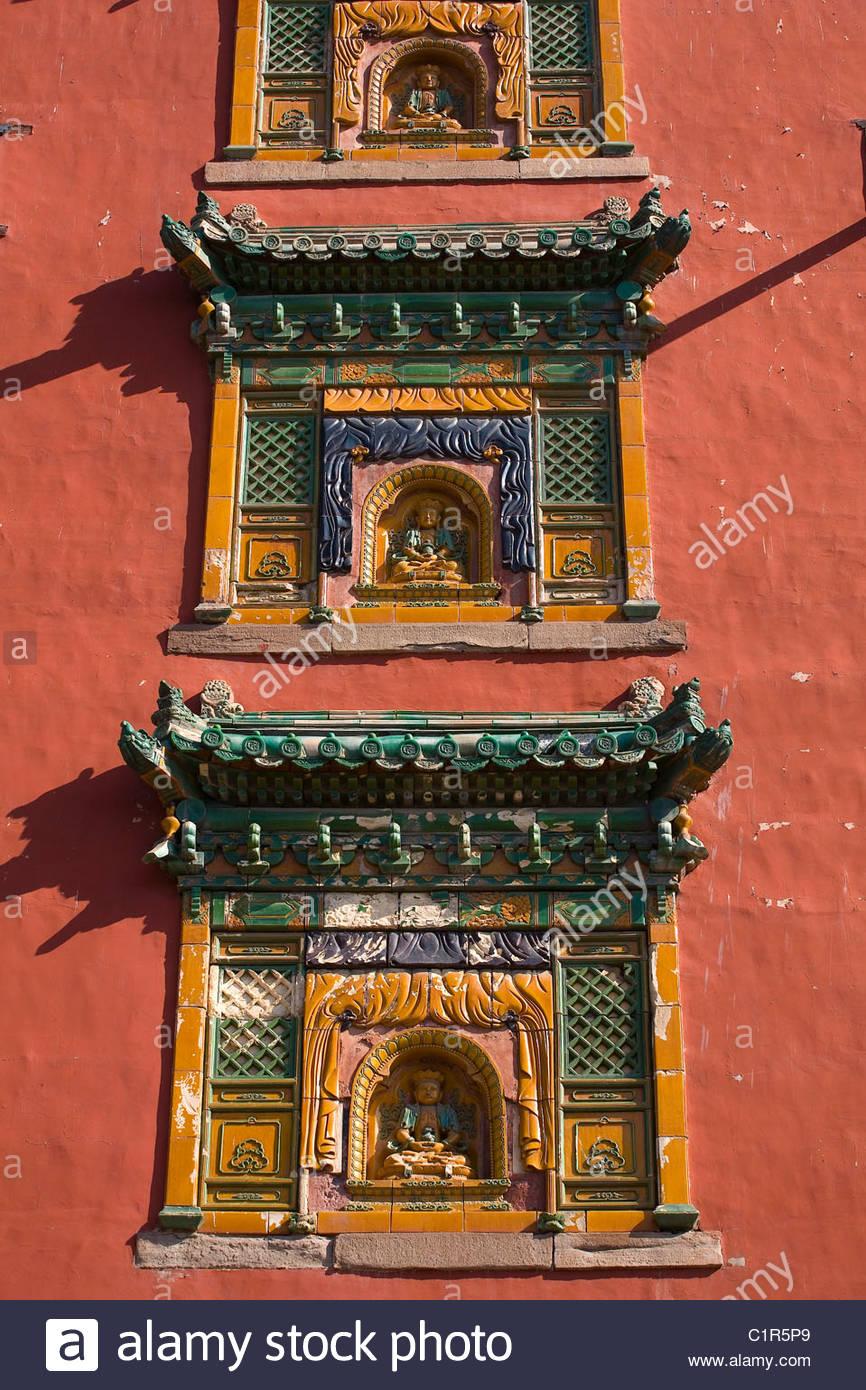 Temple of the Potaraka Doctrine, Chengde, Hebei Province, China - Stock Image