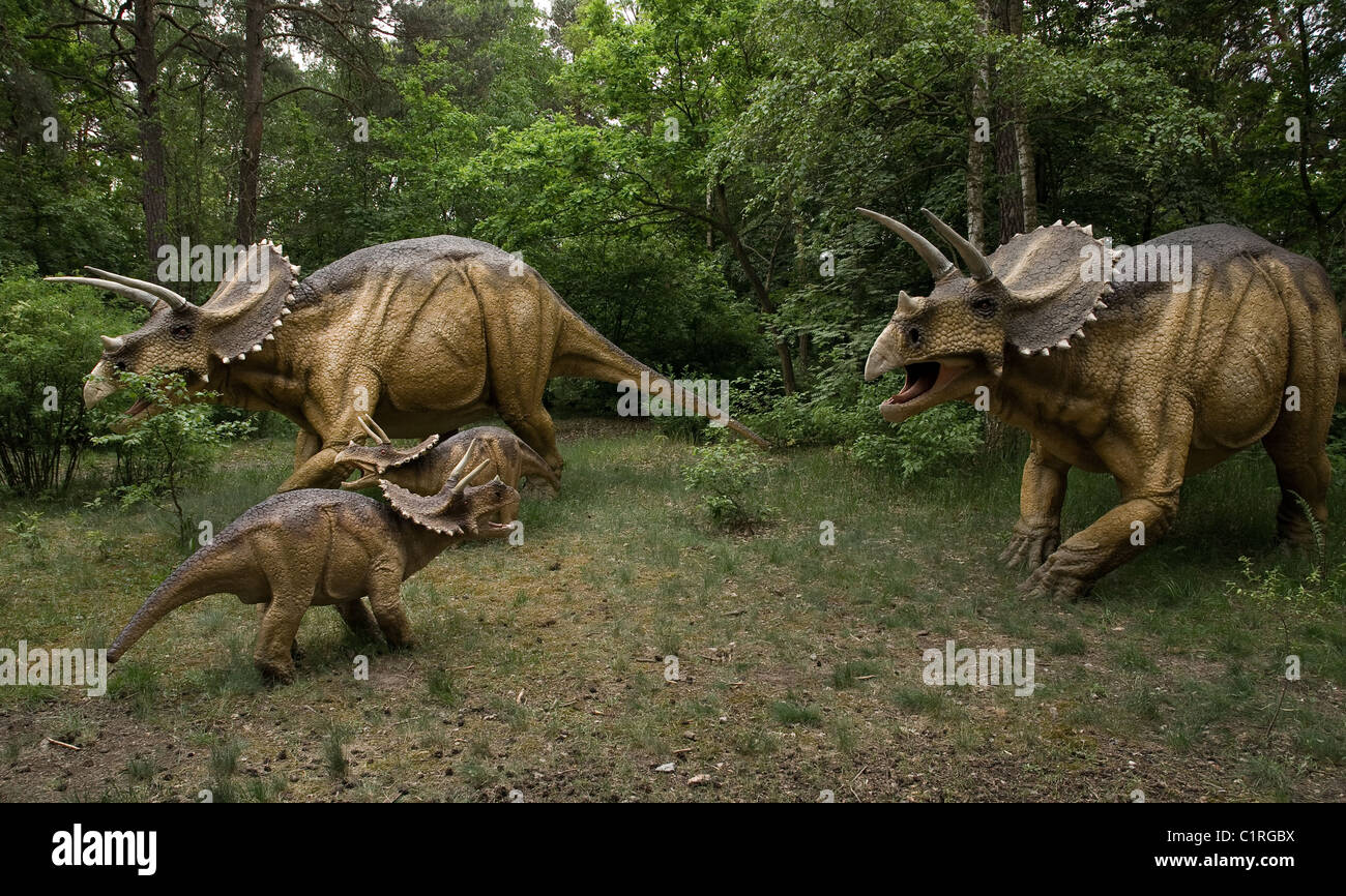 Three Dinosaurs High Resolution Stock Photography and Images - Alamy