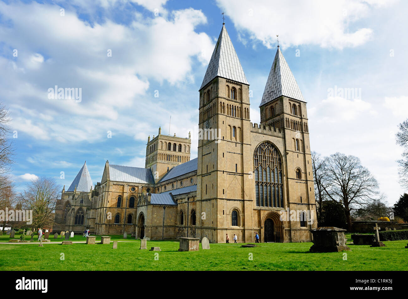 Southwell minster Nottingham england uk - Stock Image