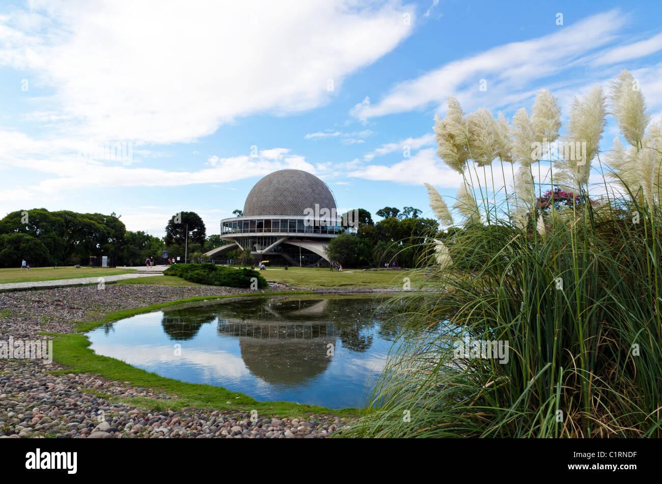 Planetarium Galileo Galilei in the neighborhood of Palermo, Buenos Aires, Argentina - Stock Image