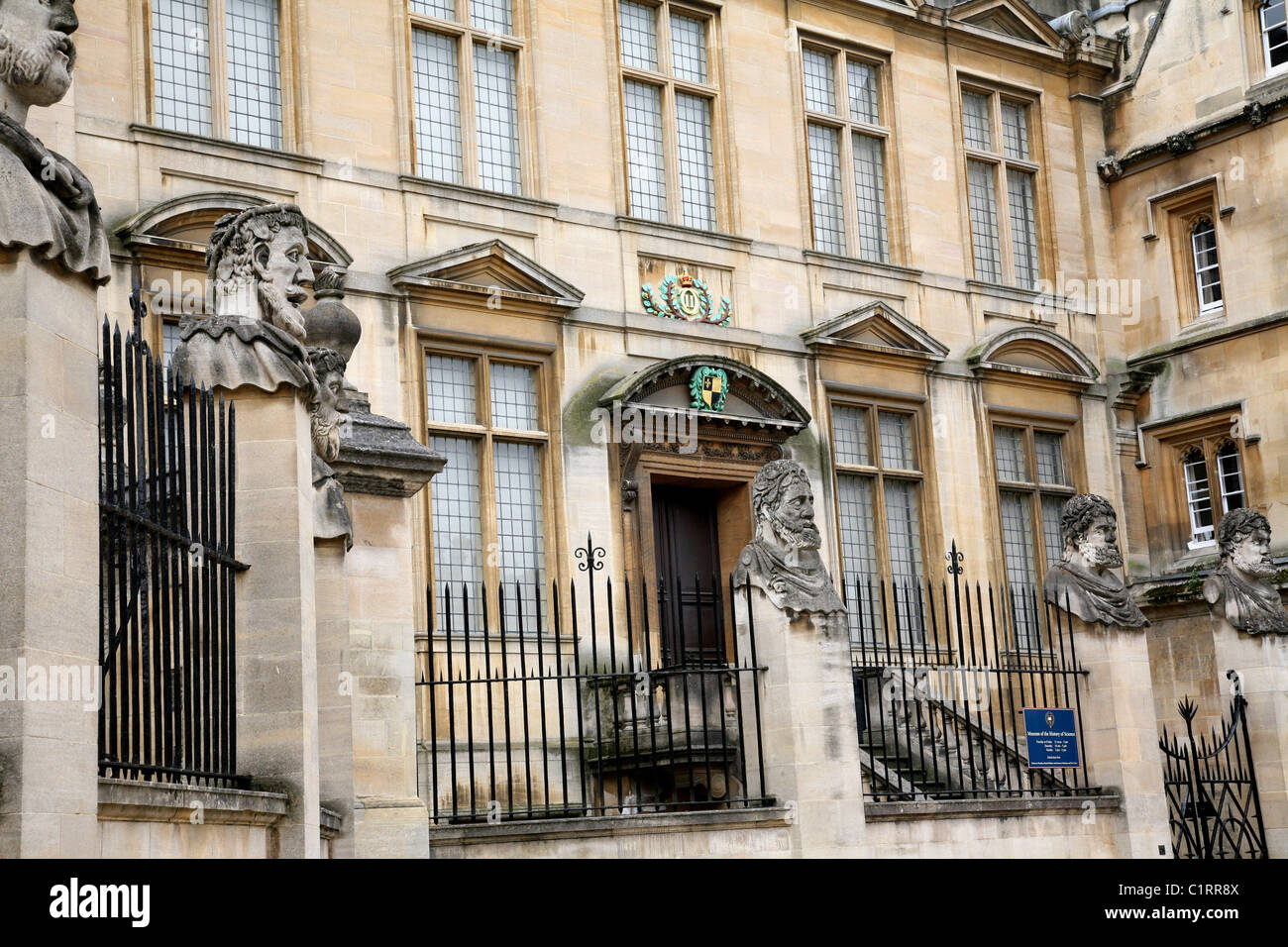 Museum of the History of Science, Oxford - Stock Image