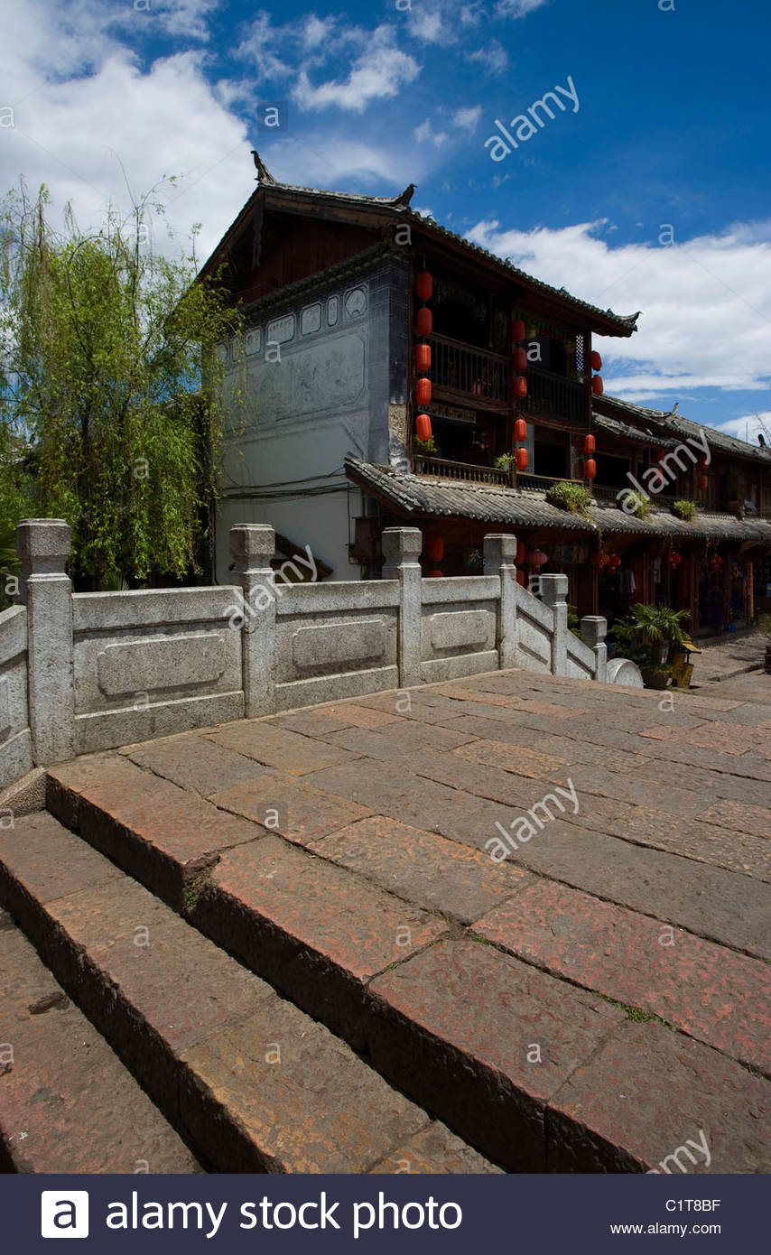 Lijiang Old Town, Yunnan, China - Stock Image