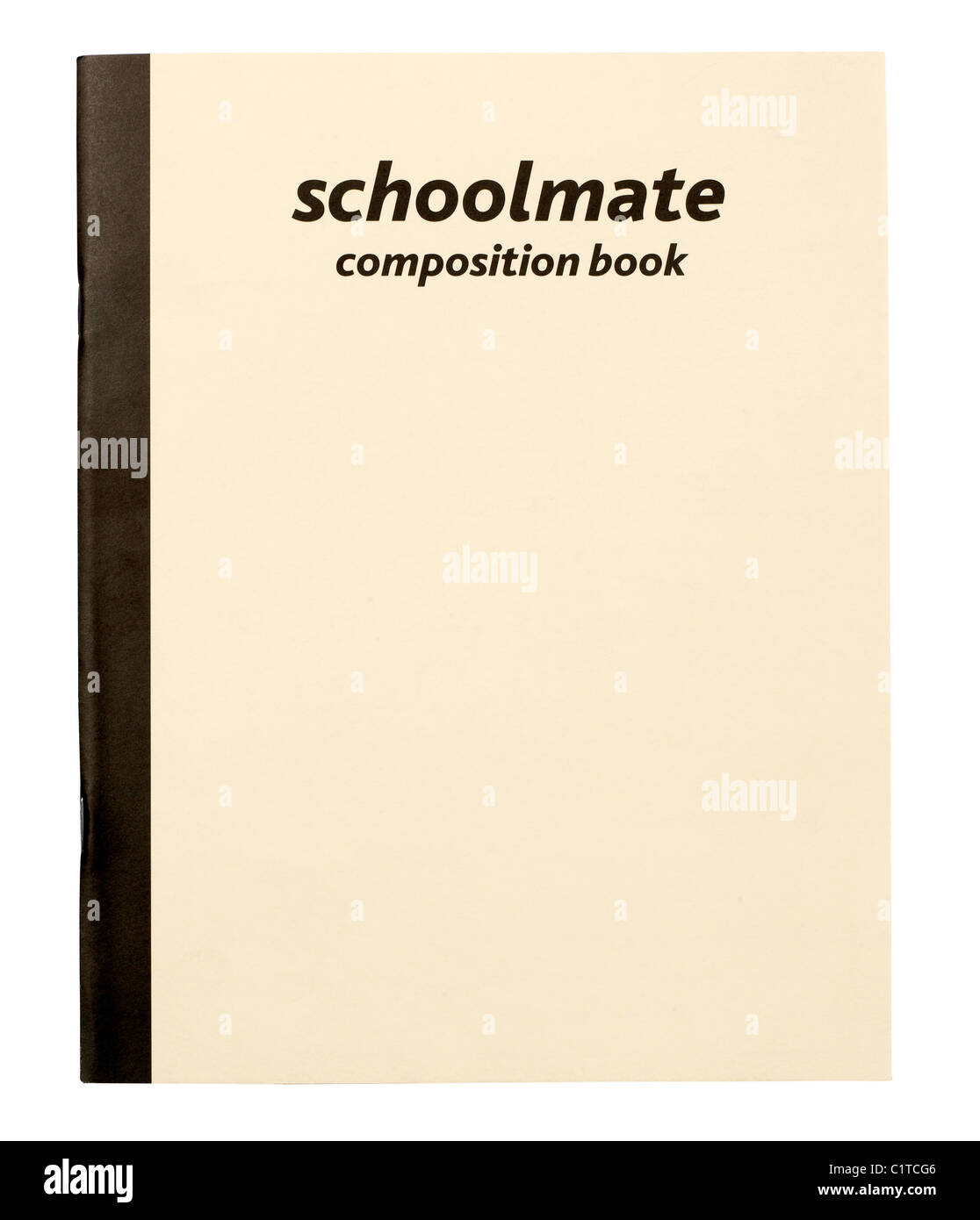 Composition book - Stock Image