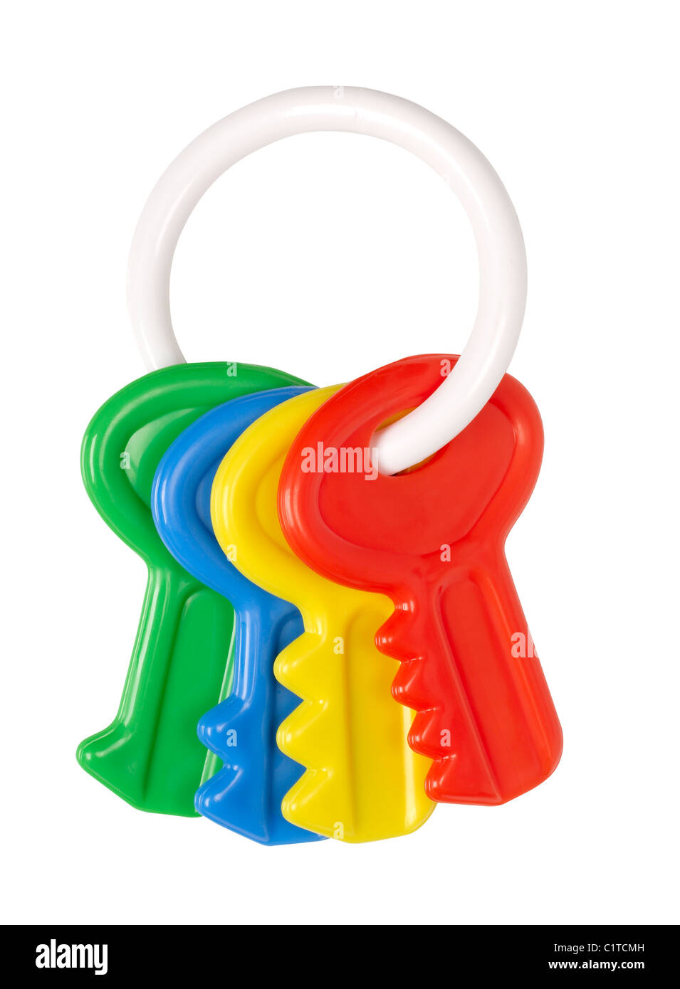 Baby Toy Keys Stock Photo 35572225 Alamy
