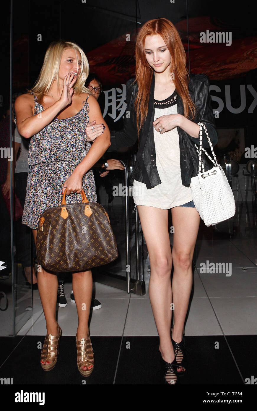 ashlee simpson and friend stock photos ashlee simpson and friend