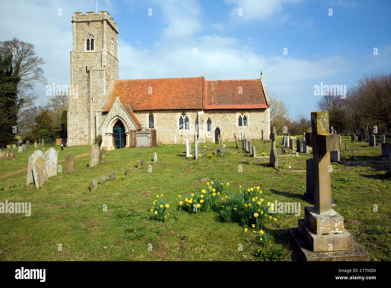 Saint Margaret's church Shottisham Suffolk England Stock Photo