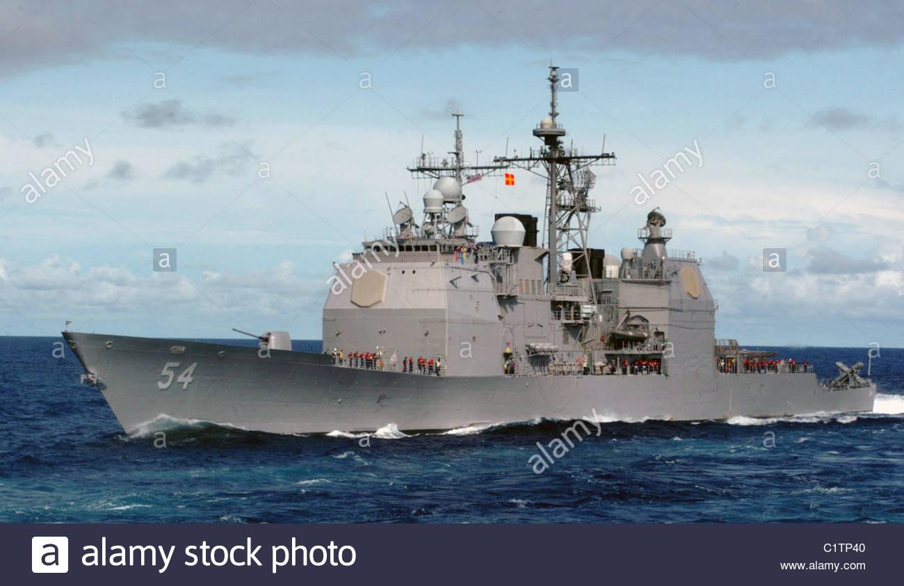 USS Antietam - Stock Image