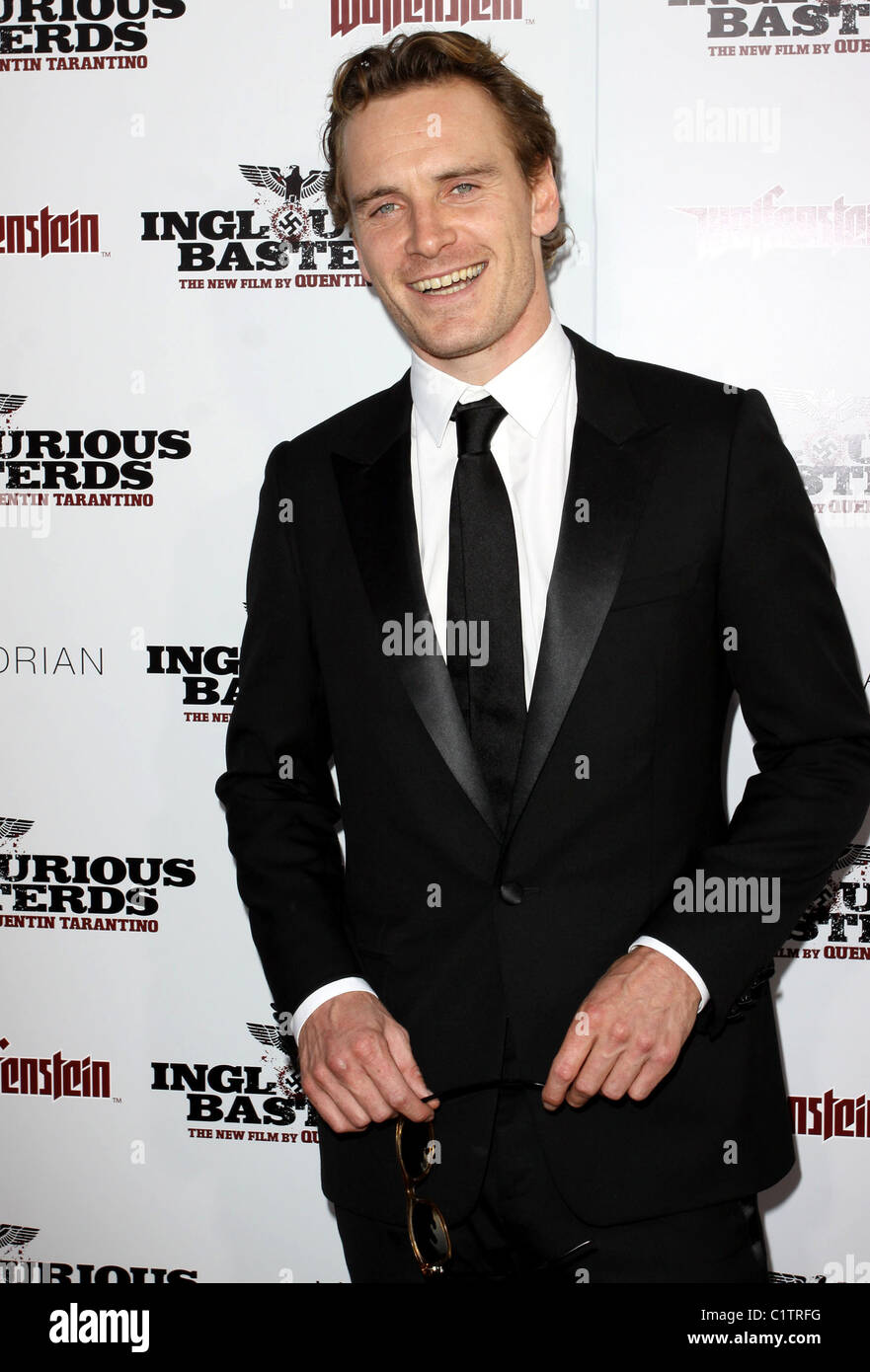 Michael Fassbender Los Angeles Premiere of Inglourious Basterds