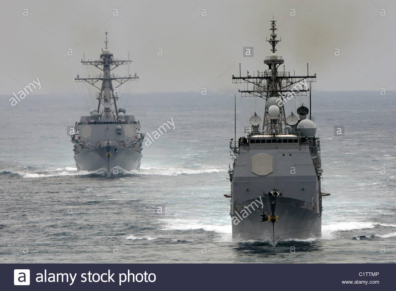 USS Cape St. George - Stock Image