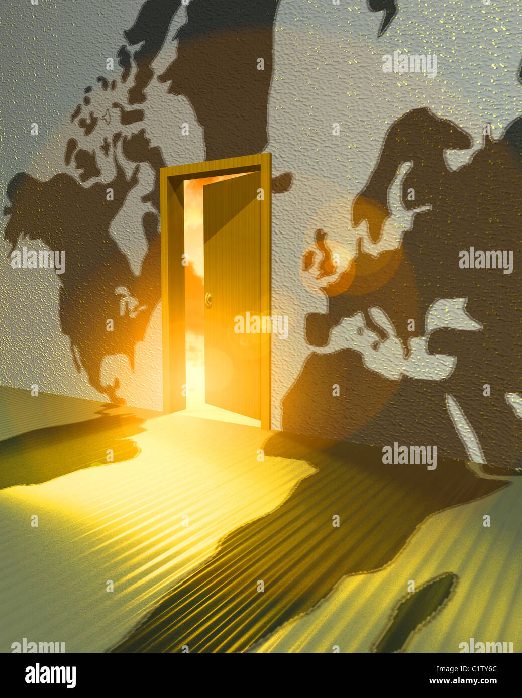 Open door policy stock photos open door policy stock images alamy libya middle east open door policy strategy world map politics stock image gumiabroncs Choice Image