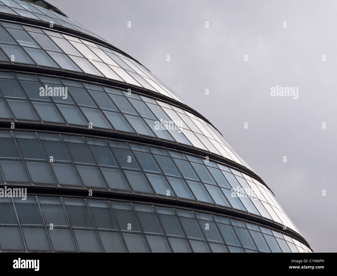 The exterior of City Hall, headquarters of the Greater London Authority. - Stock Image