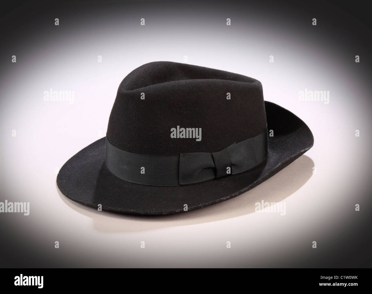 80485bfff A black felt fedora hat worn by Michael Jackson during his opening ...