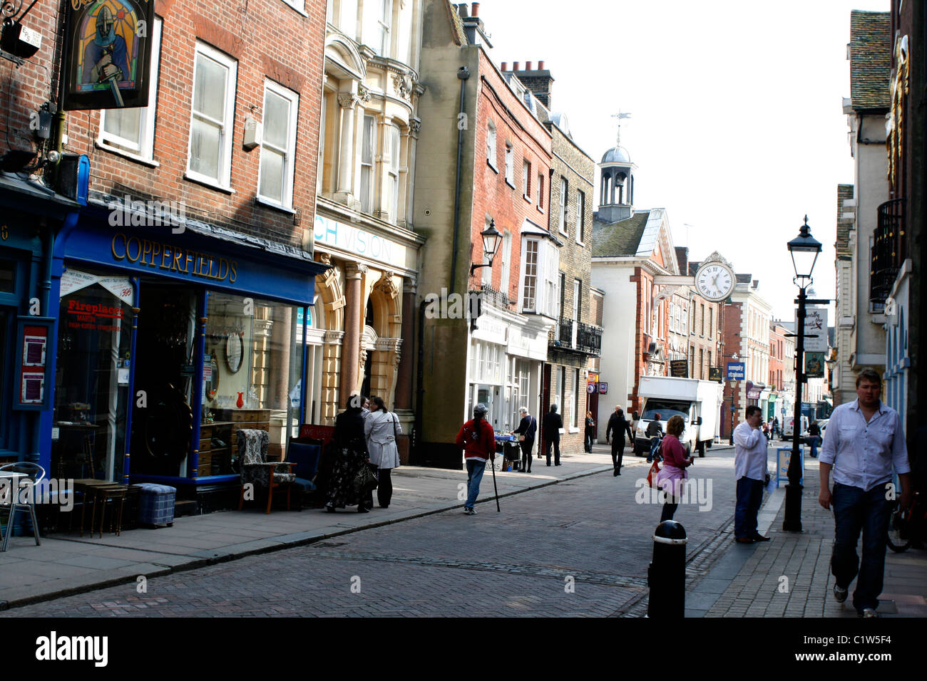 town of rochester kent 2011 - Stock Image