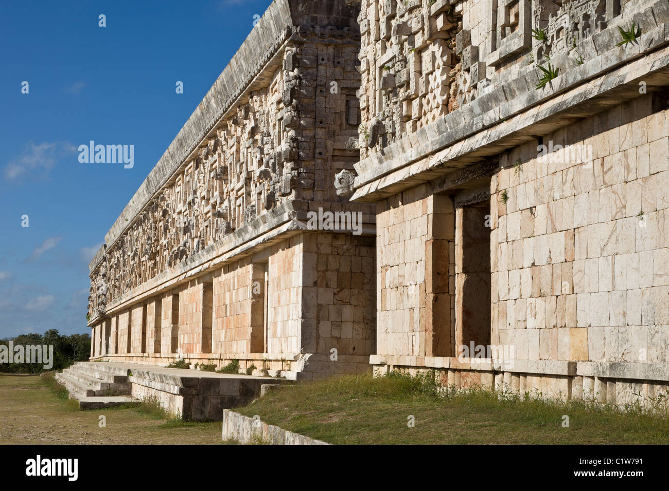The Palace of the Governor in Uxmal is one of the best examples of