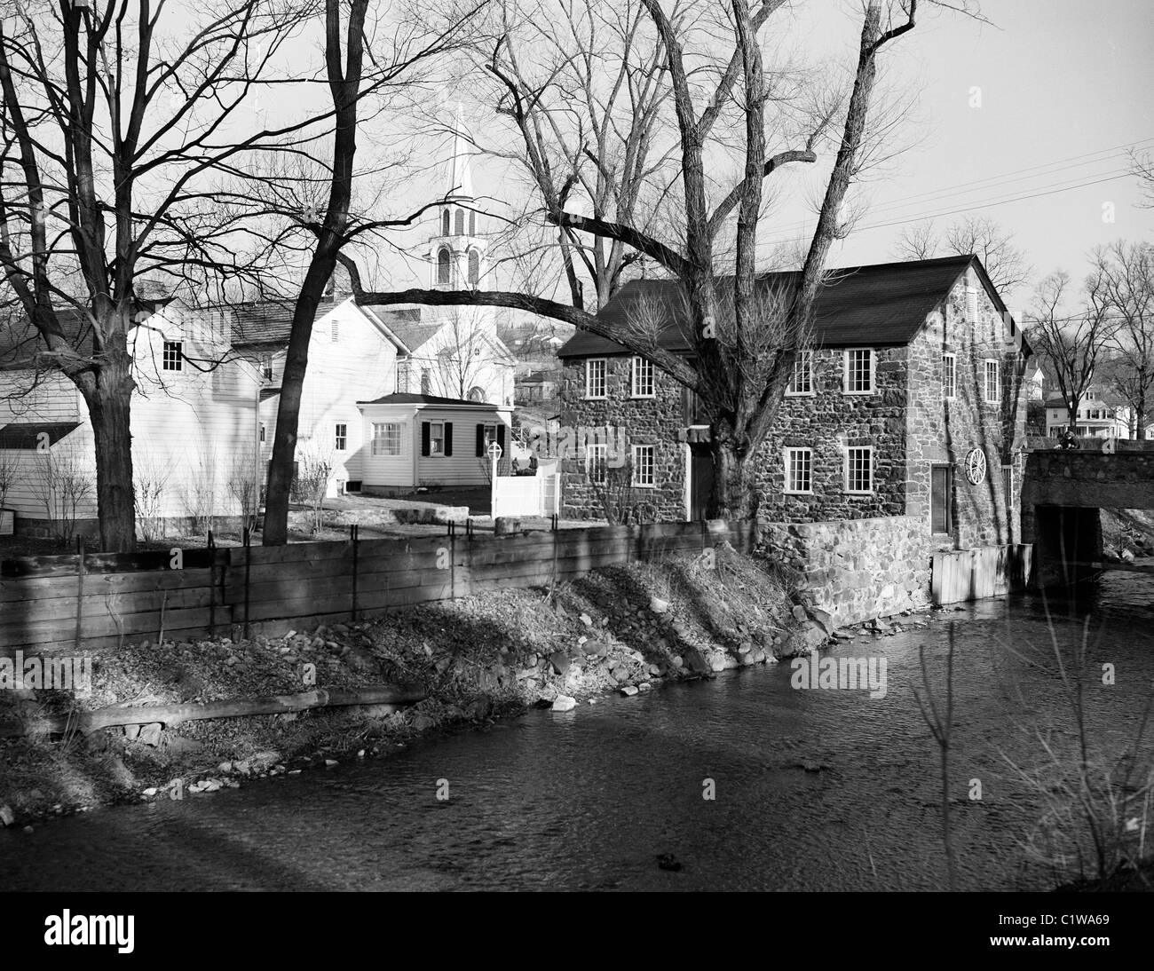 USA, New Jersey, Gladstone, Townscape - Stock Image