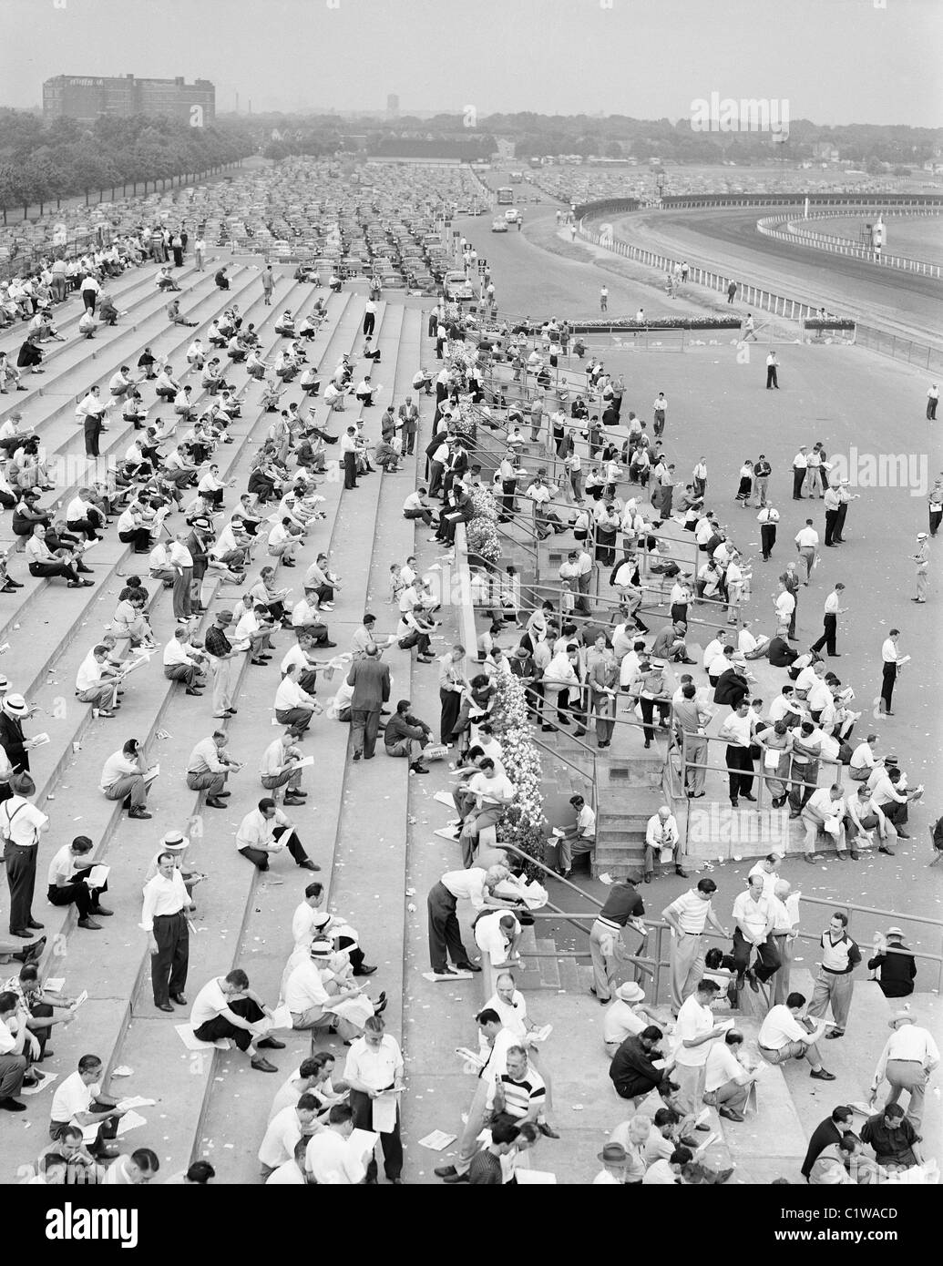 Racing Track Black And White Stock Photos Amp Images Alamy