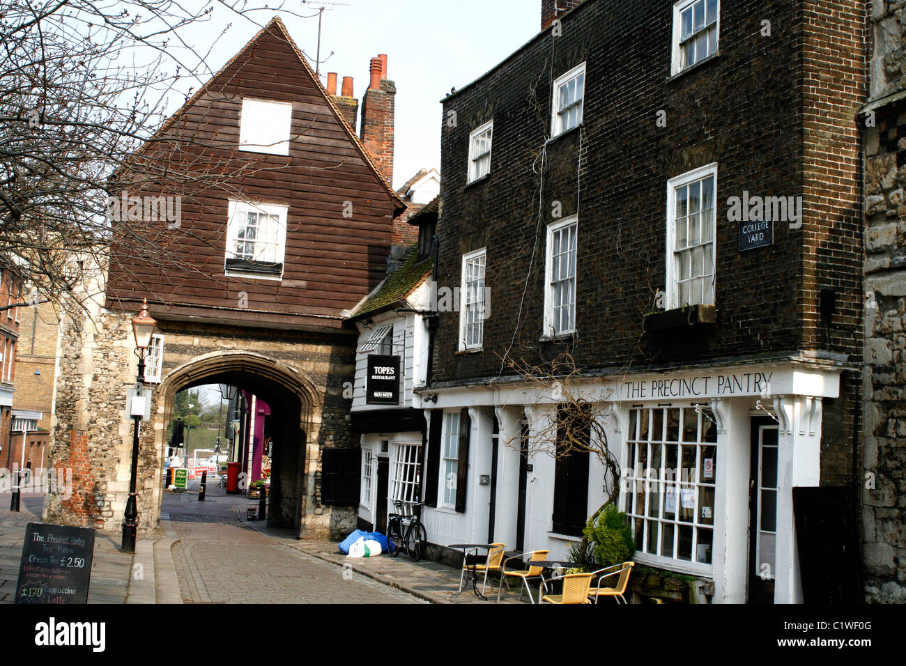 rochester town in kent south east of england uk 2011 - Stock Image