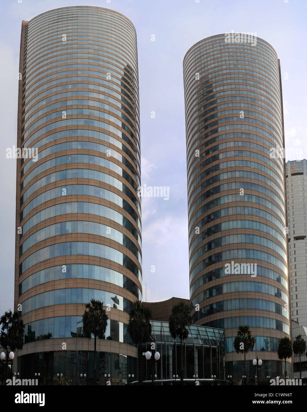 The World Trade Centre (also known as World Trade Centre  or WTCC) is the tallest completed building in Sri Lanka - Stock Image