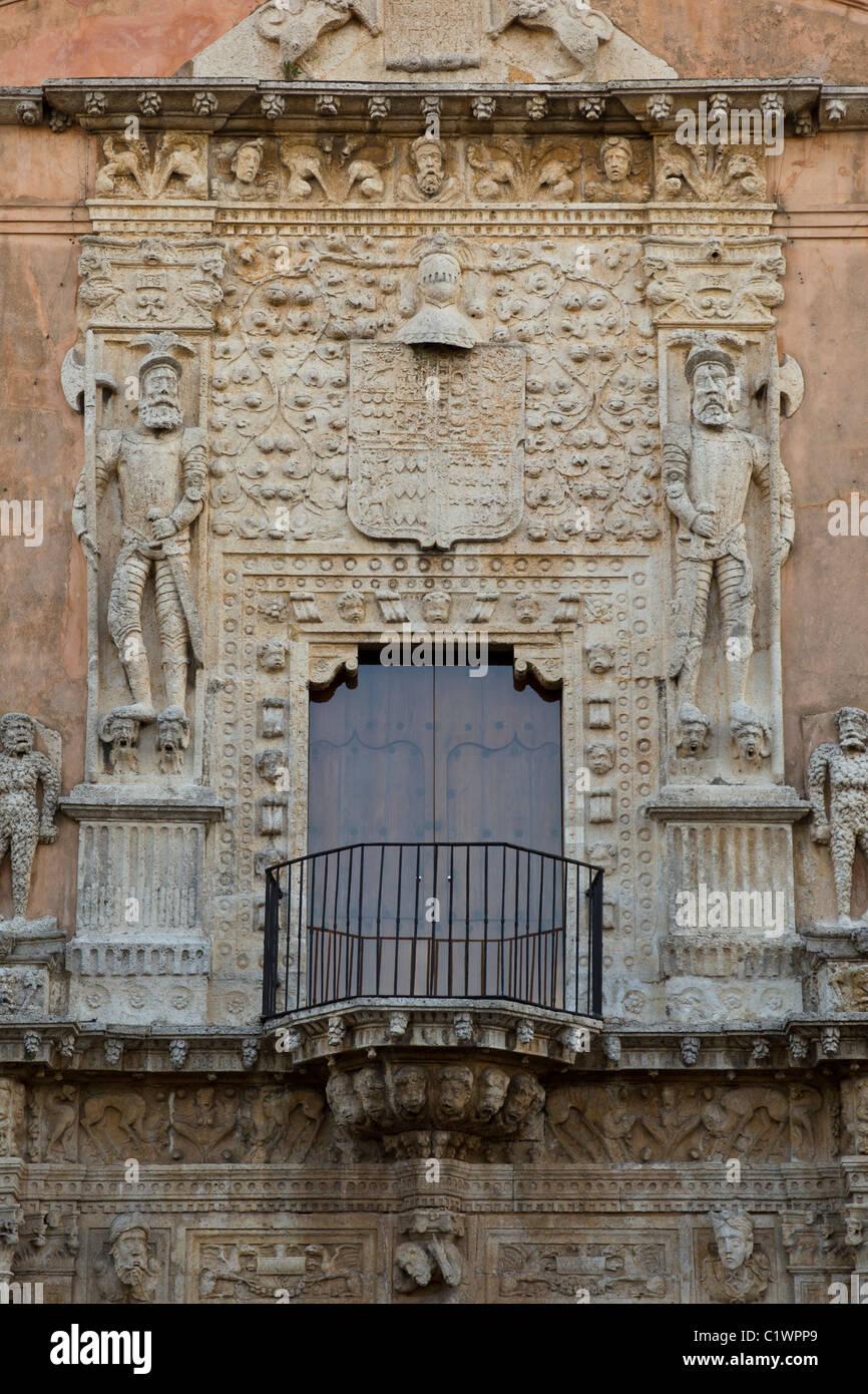The Casa de Montejo (Montejo's House) was built in 1569 by Mérida's founder, Francisco de Montejo. Merida, Yucatan, Stock Photo
