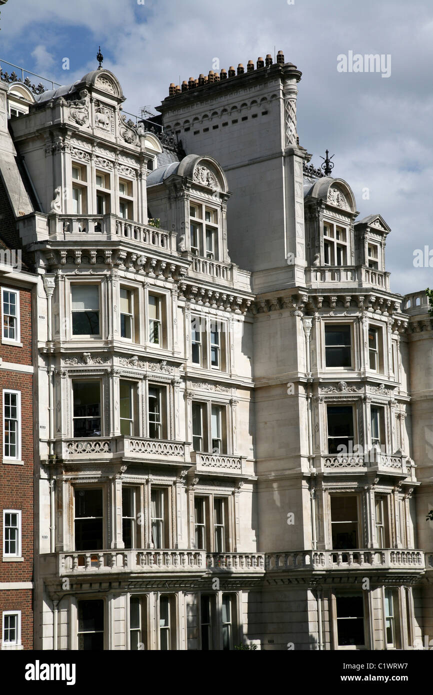 London, Gothic Office Building, Inner Temple - Stock Image