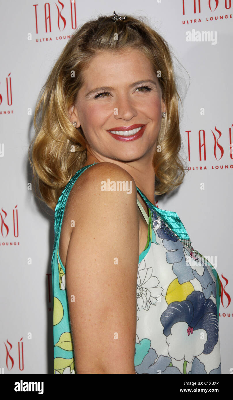 Kristy Swanson  Jason Priestley holds his 40th birthday party at TABU Ultra Lounge inside the MGM Grand Resort Hotel - Stock Image