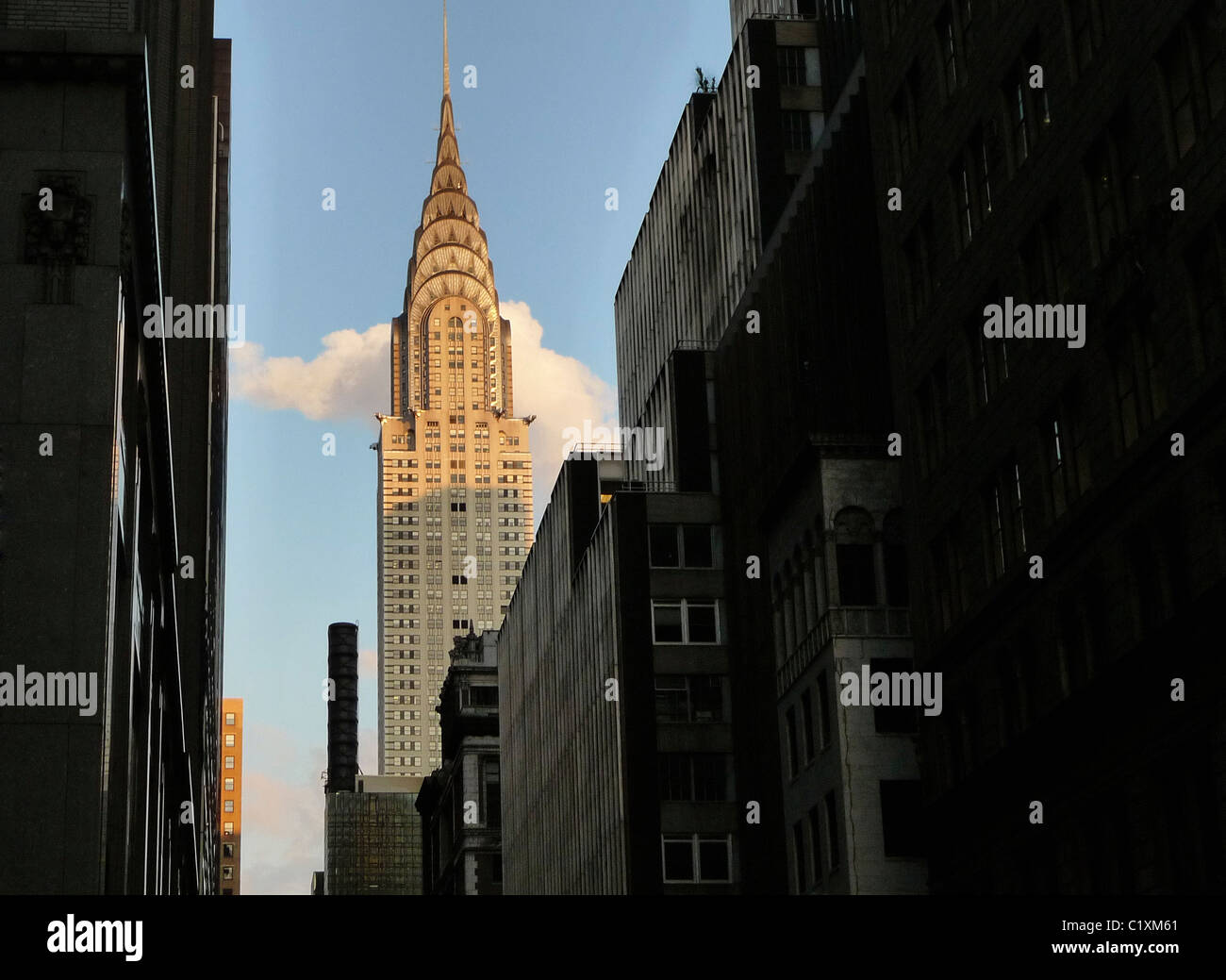 American Cities, Chrysler Building, New York City USA. - Stock Image