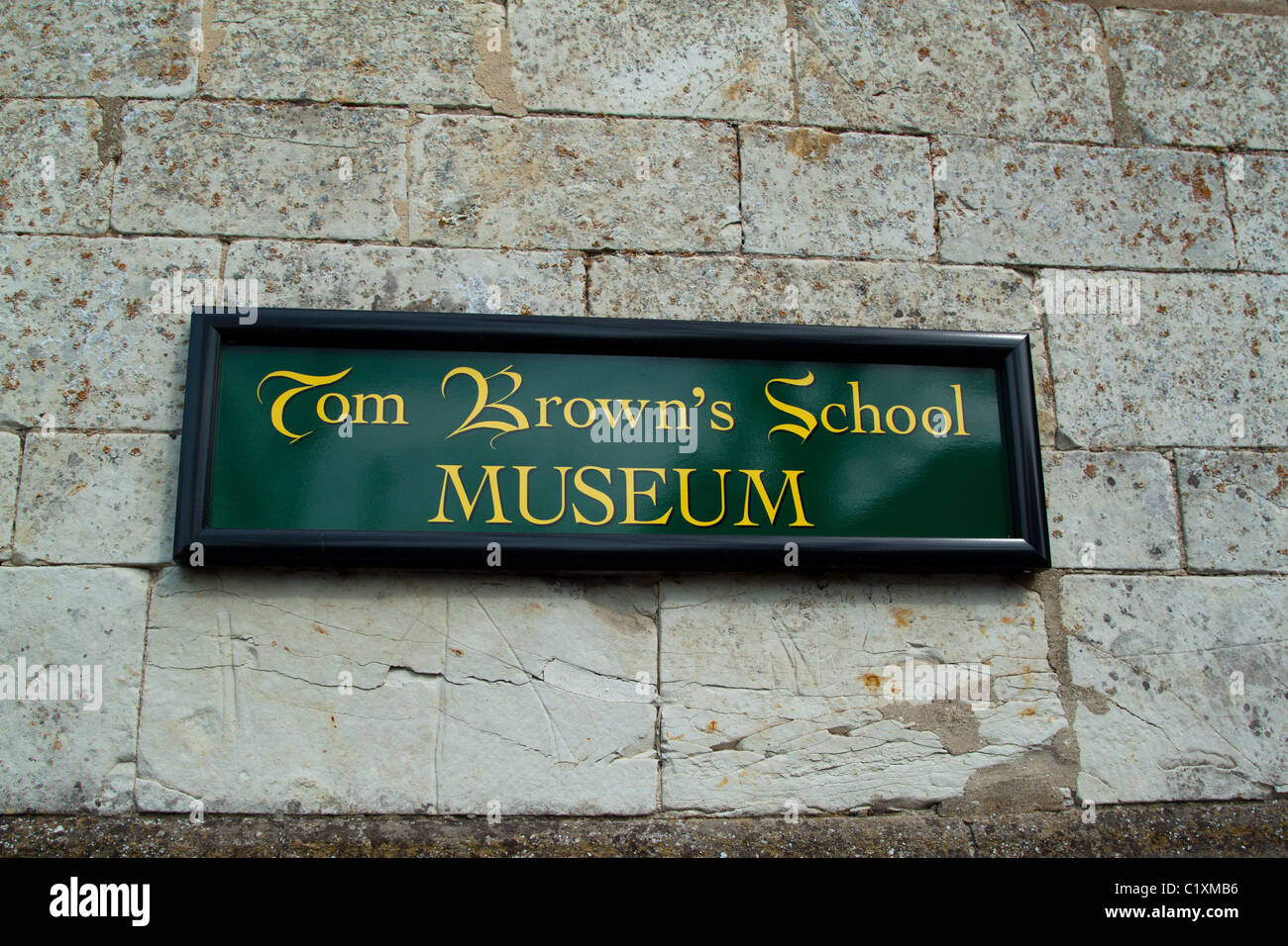 Tom Browns School Museum, Uffington, Oxon Stock Photo