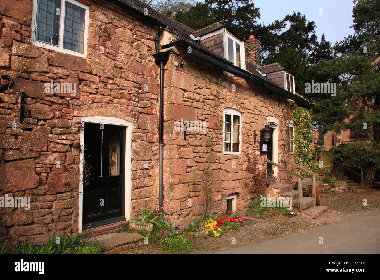 Boat Inn Erbistock North Wales UK UNited Kingdom EU Europe - Stock Image