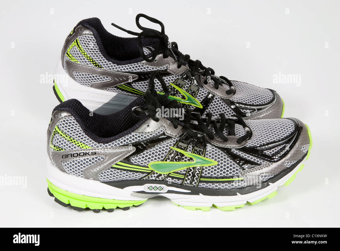 pair of trainers running shoes stock photos pair of trainers