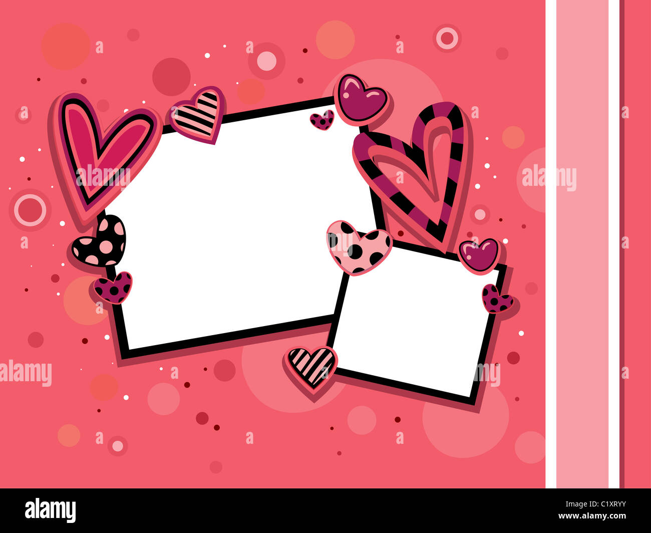 Background Backdrop Design Elements Romance Frame Pink Cute Girly ...