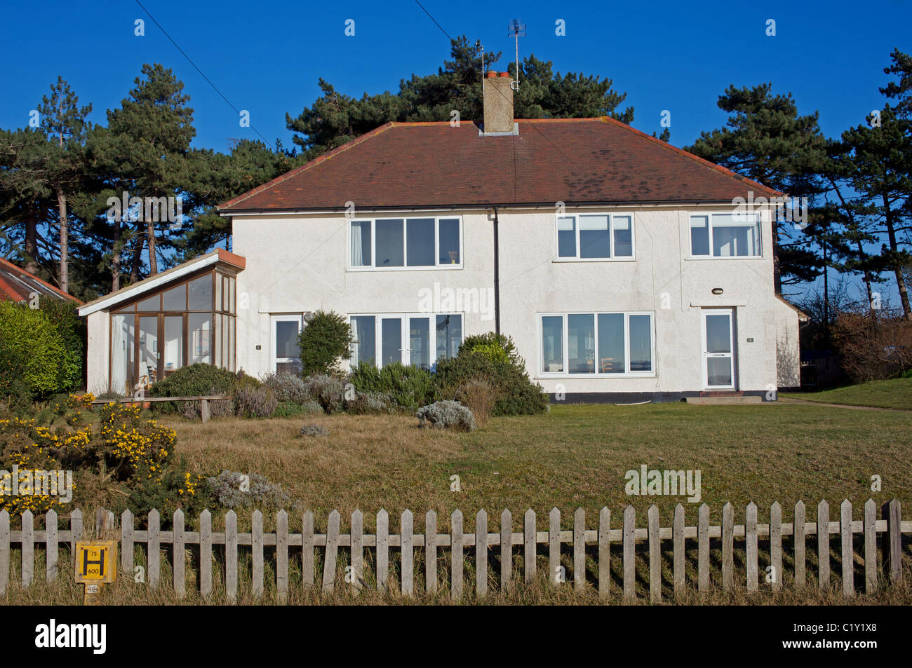 ex mod semi detached houses now privately own second homes suffolk rh alamy com house_owner papercraft house_owner skin