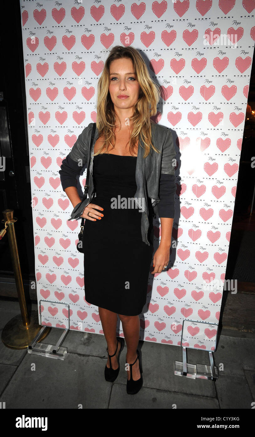 Guest PRPS hearts start launch party at held at Start boutique London, England - 03.09.09 - Stock Image