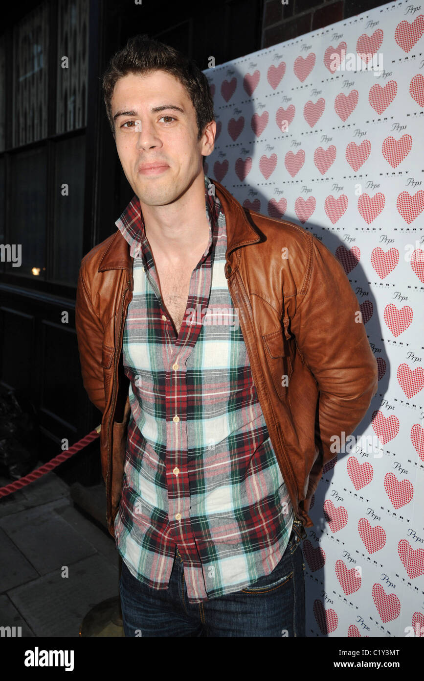 Toby Kebbell PRPS hearts start launch party at held at Start boutique London, England - 03.09.09 - Stock Image