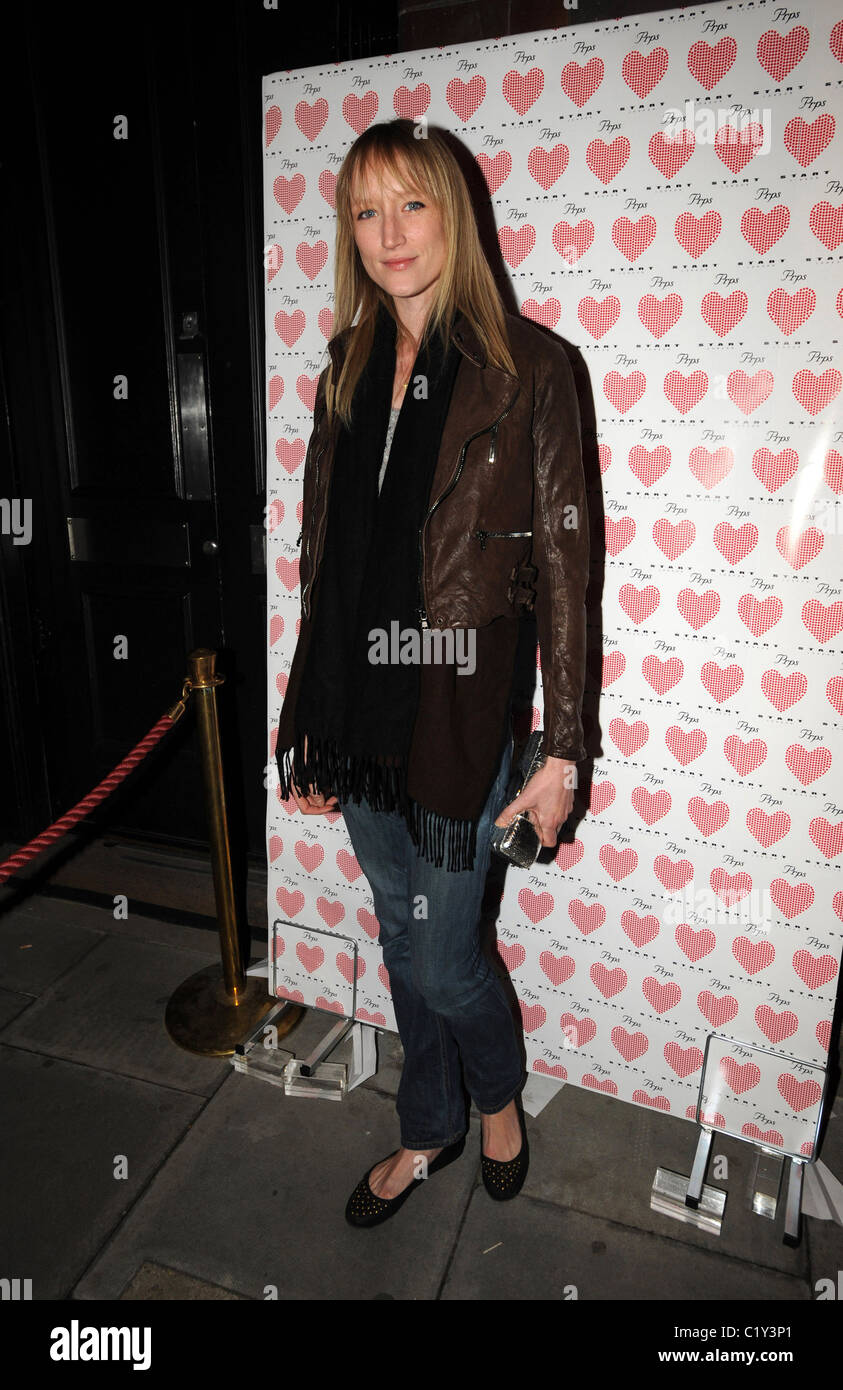Jade Parfitt PRPS hearts start launch party at held at Start boutique London, England - 03.09.09 - Stock Image