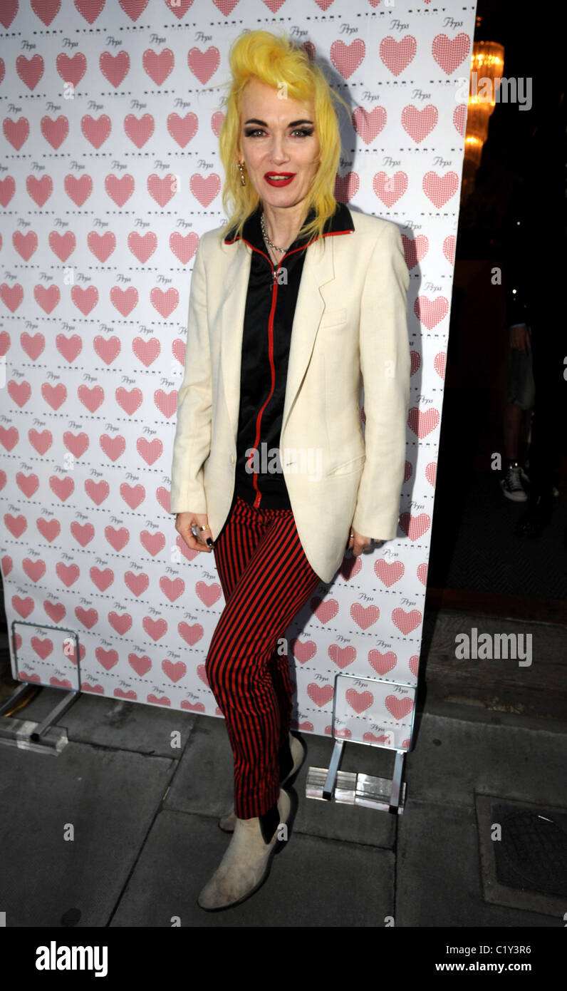 Pam Hogg PRPS hearts start launch party at held at Start boutique London, England - 03.09.09 - Stock Image