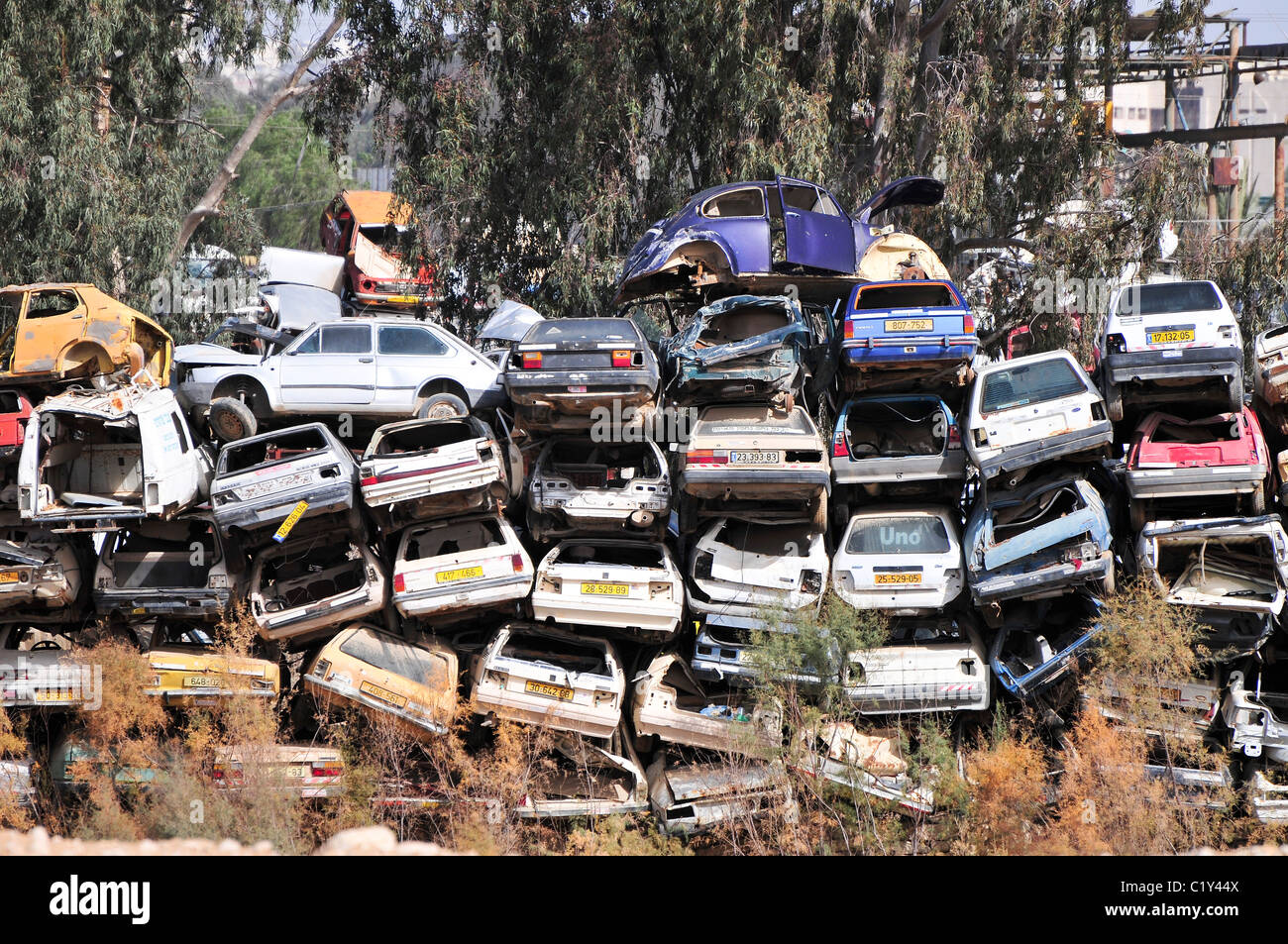 Car Piled Up Stock Photos & Car Piled Up Stock Images - Alamy