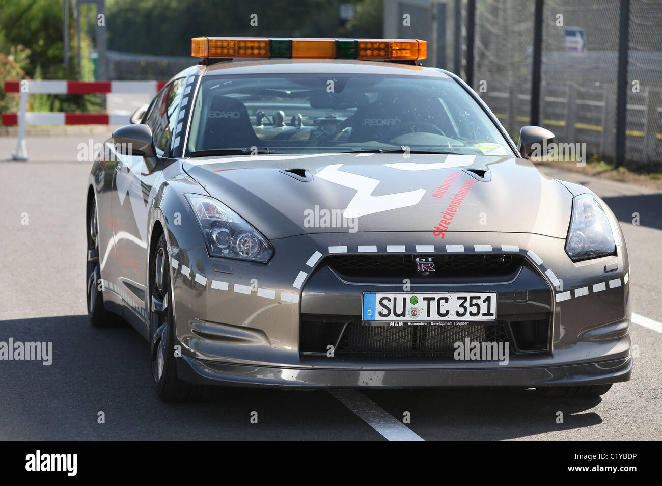 NISSAN GT R BECOMES FASTEST FIRE FIGHTER AT THE N·RBURGRING The Ultimate