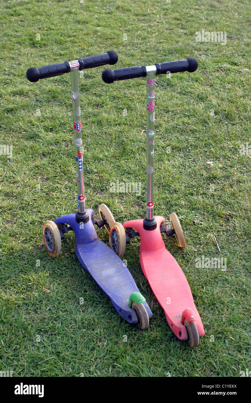 Microscooters - Stock Image