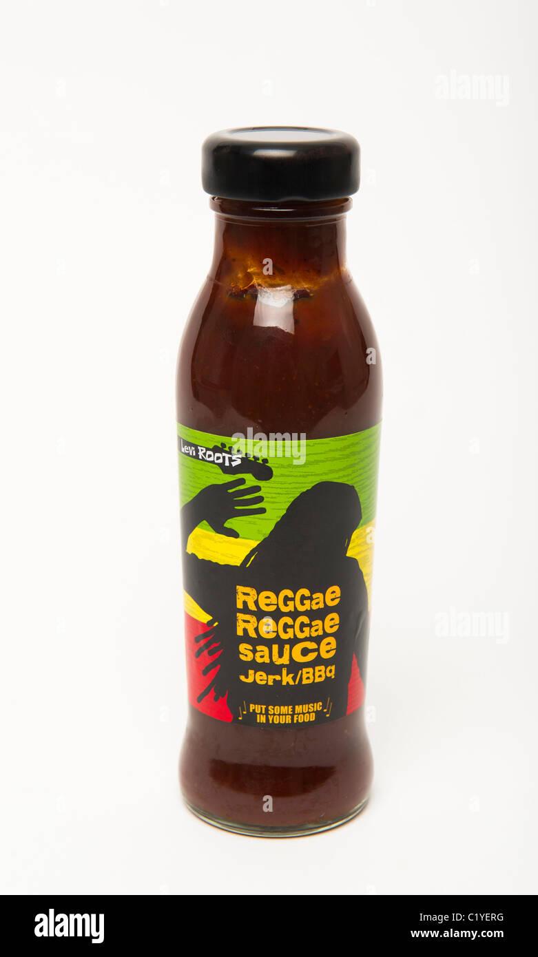 'Reggae Reggae' Sauce - Stock Image