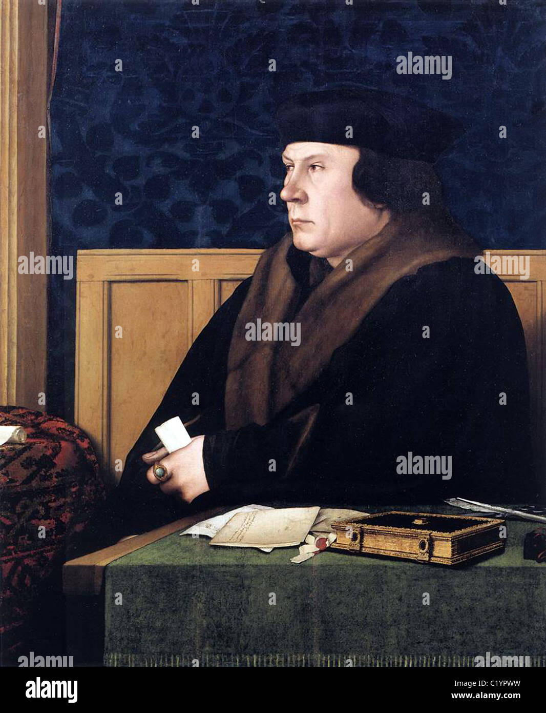 Thomas Cromwell, 1st Earl of Essex. - Stock Image