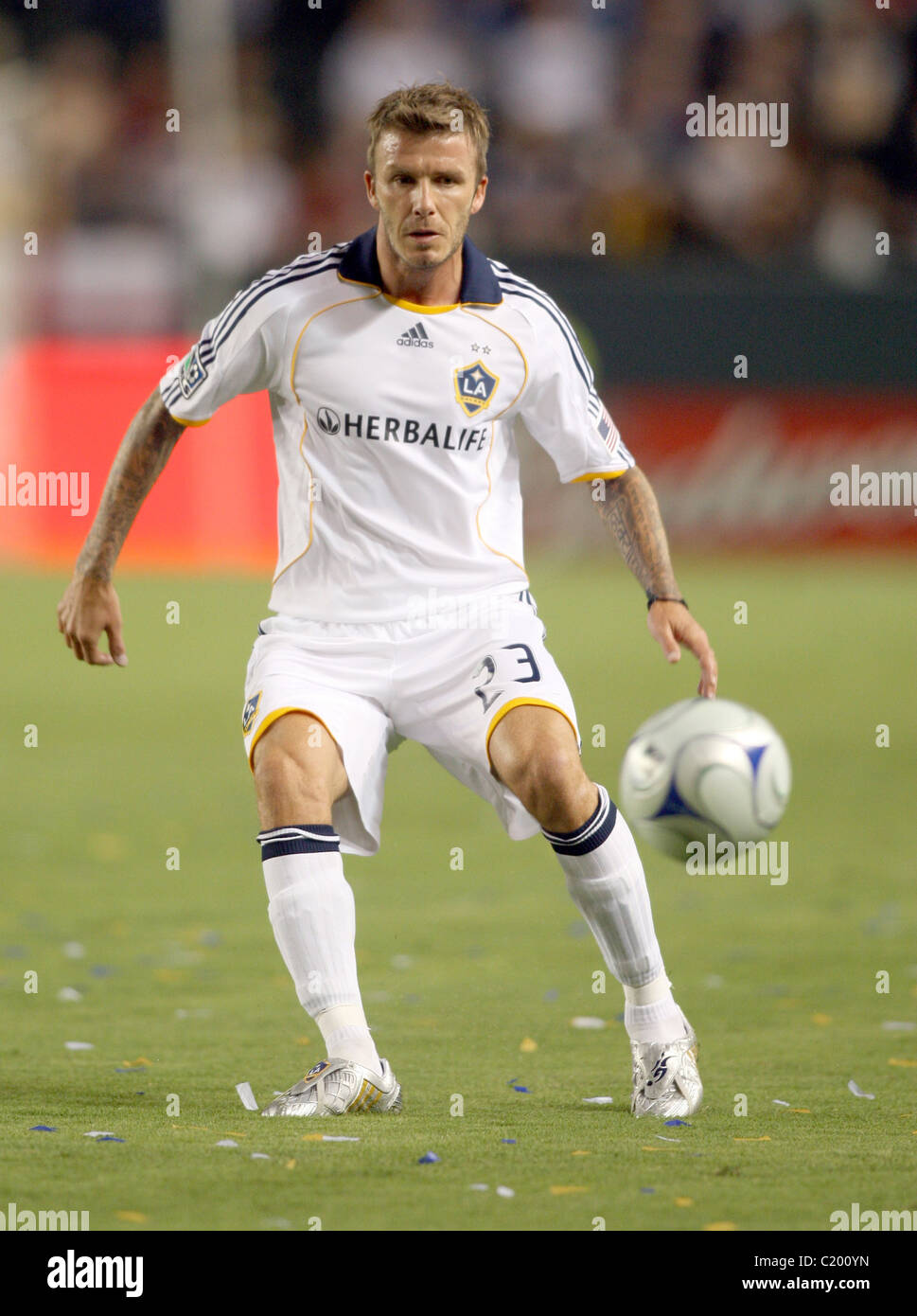 3a6db497c David Beckham Los Angeles Galaxy were crushed 6-3 by FC Dallas at The Home  Depot Center