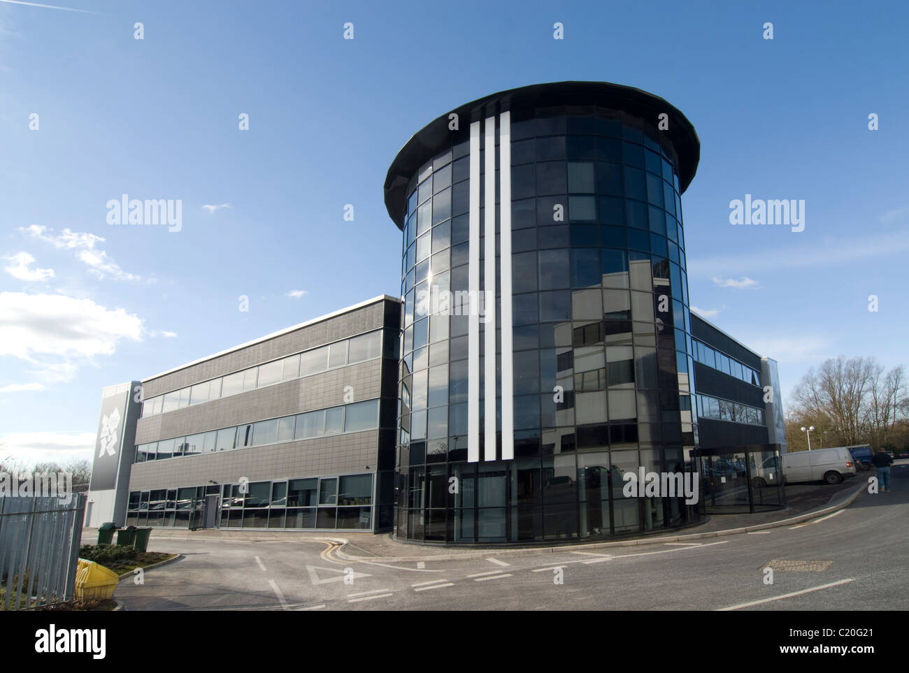 Adidas Business Headquarters  Stockport Manchester - Stock Image