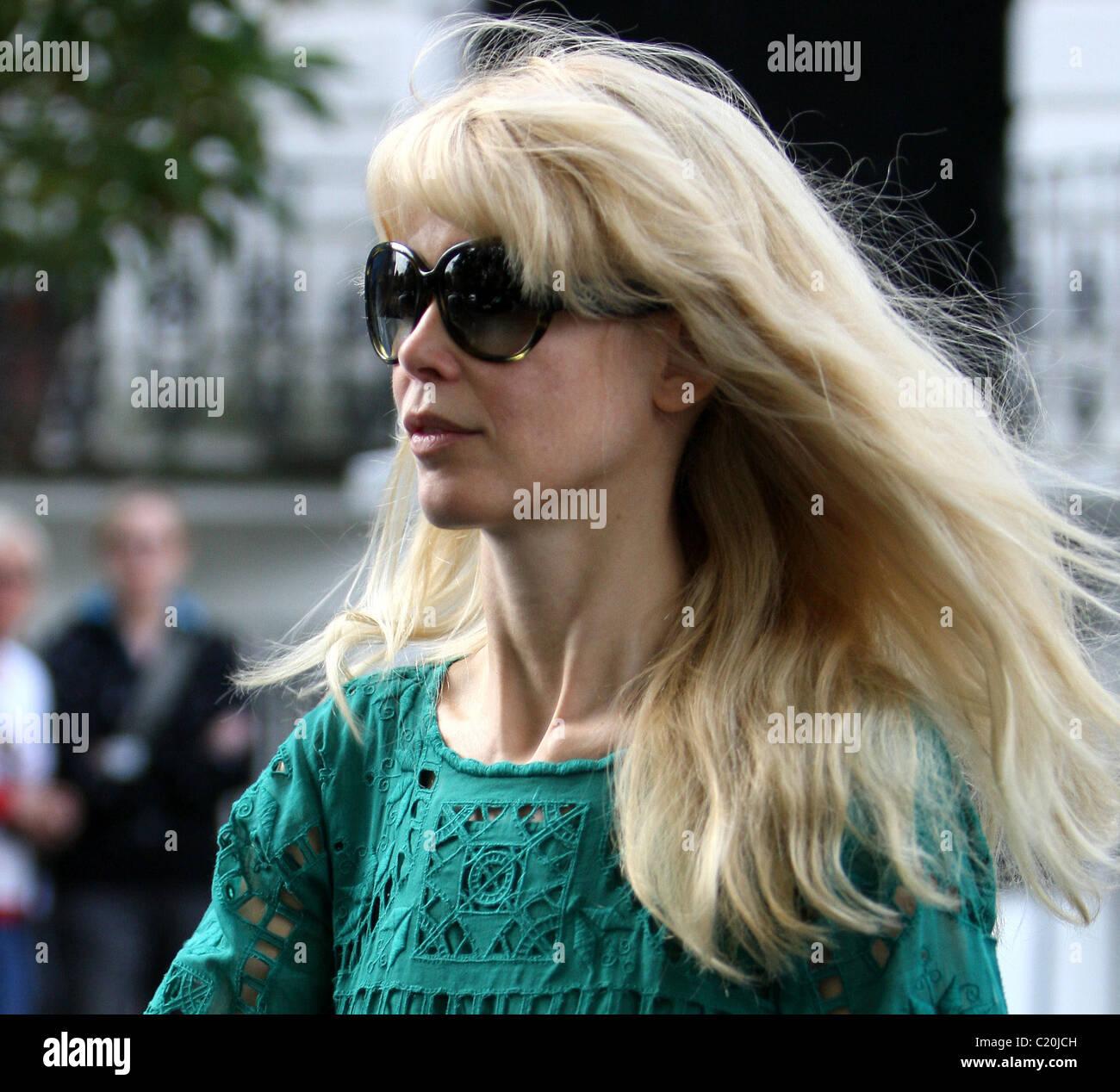 828886c1a2e Sunglasses Claudia Schiffer 230909 Stock Photos   Sunglasses Claudia ...